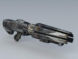 Sci-Fi Plasma Weapon 3d model