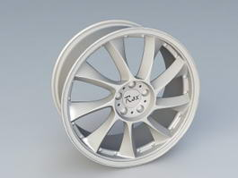 Rex Alloy Wheel 3d model