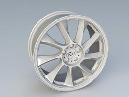 Rex Alloy Wheel 3d preview