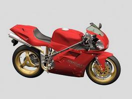 Ducati Motorcycle 3d model