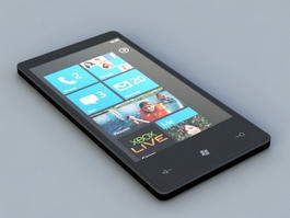 Nokia Windows Phone 3d model