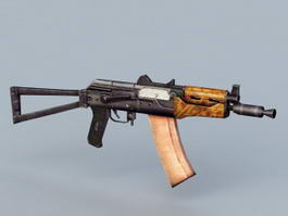 AKS 74U Carbine 3d model