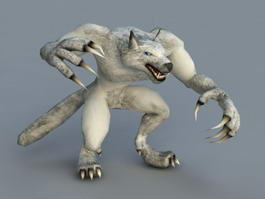 Werewolf Rig 3d model