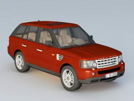 Land Rover Range Rover Classic 3d model