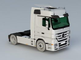 Mercedes-Benz Actros Cap Tractor 3d model