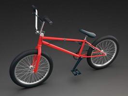 BMX Racing Bike 3d model