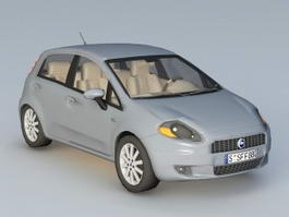 Fiat Punto 3d model