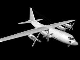C-130 Hercules Aircraft 3d model