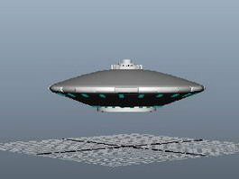 UFO Alien Spaceship 3d model