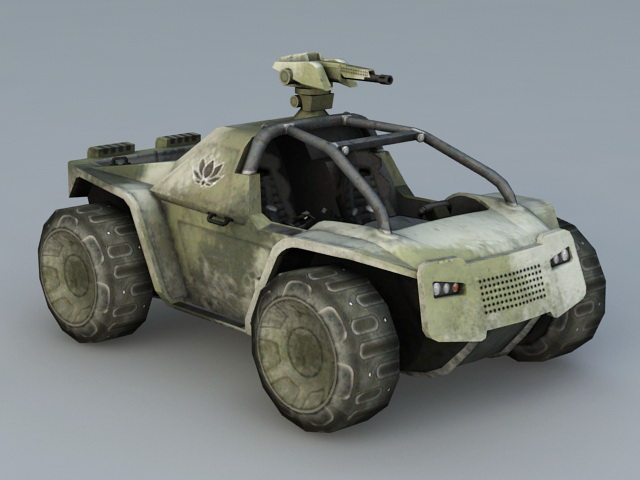 Combat Fighting Vehicle 3d model