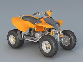 ATV Quad Bike 3d model
