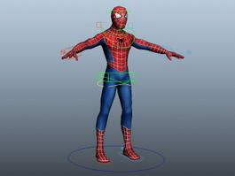 Spidey Rig 3d model