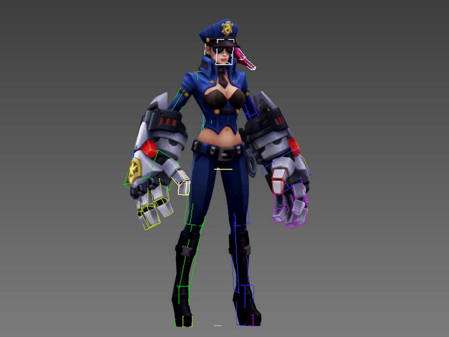 Caitlyn The Sheriff Of Piltover 3d Model 3ds Max Files