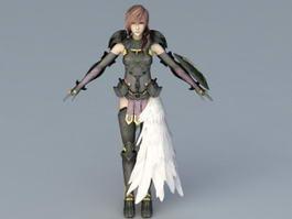 Final Fantasy XIII Lightning 3d model