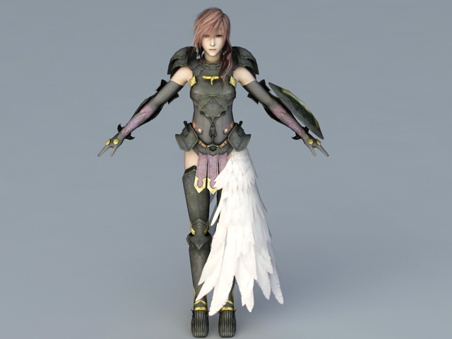 Basch fon Ronsenburg in Final Fantasy XII 3d model 3ds max