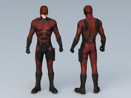 Daredevil Marvel Comics 3d model