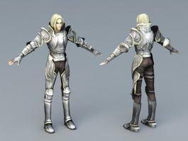 White Knight 3d model