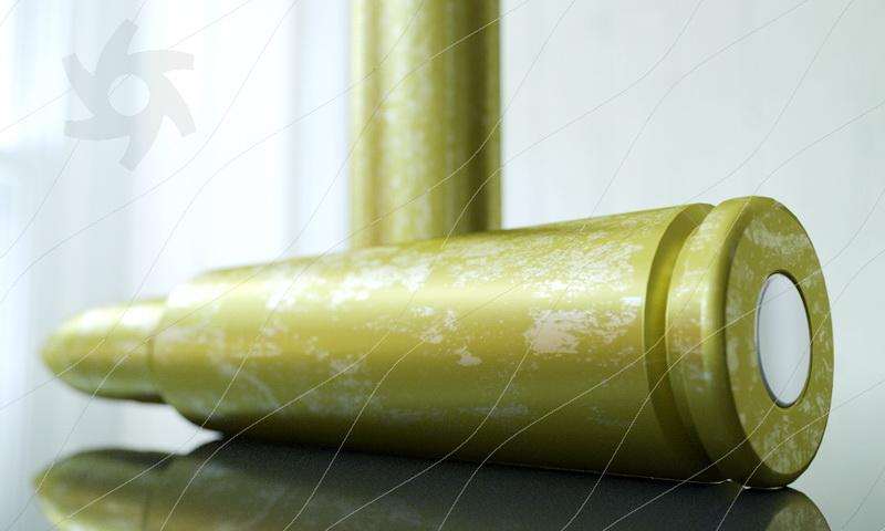 Rifle Bullets 3d model