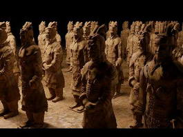 Chinese Terracotta Army 3d model