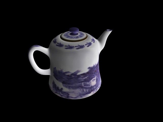 Chinese Tea Pot 3d model
