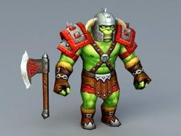 Orc Warrior Concept 3d model