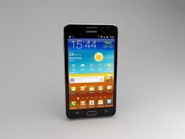 Samsung Galaxy Note N7000 3d model