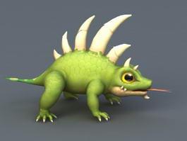 Anime Chameleon 3d model