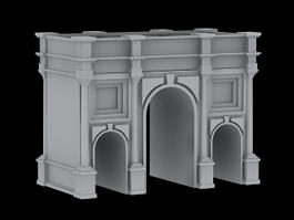 Marble Arch London 3d model