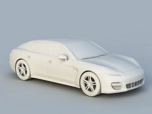 Porsche Panamera 3d model