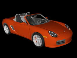 Porsche Boxster 3d preview