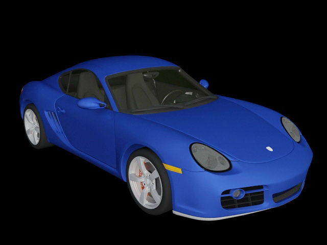 2006 Porsche Cayman S 3d model