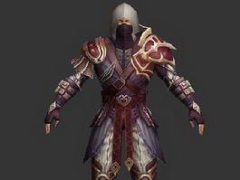 Shadow Rogue Assassin 3d model