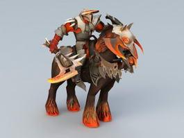 Chaos Knight 3d model