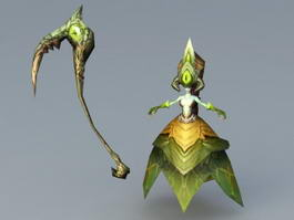 Banshee Creature 3d model