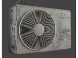 Old Air Conditioner 3d model