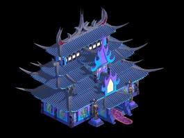 Devil Palace 3d model