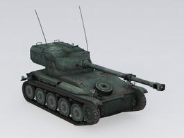 AMX 12T Light Tank 3d model