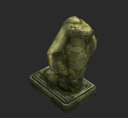 Snake Statue 3d model
