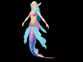 Mermaid Rig 3d model