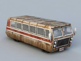 Junk Bus 3d model