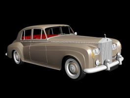 1959 Rolls-Royce Silver Cloud 3d model