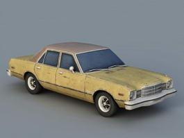 1977 Plymouth Volare Sedan 3d model