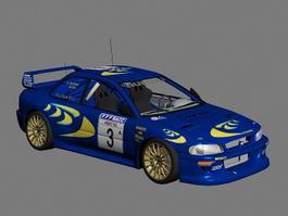 Subaru Impreza WRC 3d model