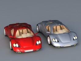 Nimble Cars 3d model