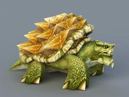 Green Sea Turtle 3d model