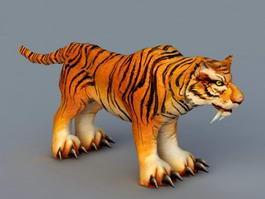 Siberian Tiger 3d model