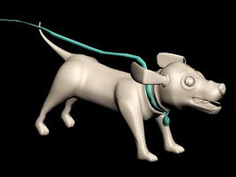 Cute Dog 3d model
