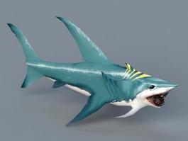 Blue Shark 3d model