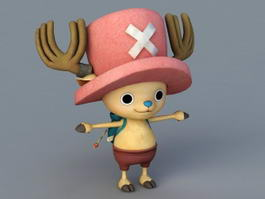 Chopper One Piece 3d model