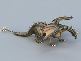 Black Dragon 3d model